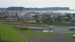 道の駅厚岸グルメパークから見た海.jpg